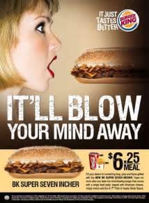 kfc vs burger king vs mcdonald s print advertising
