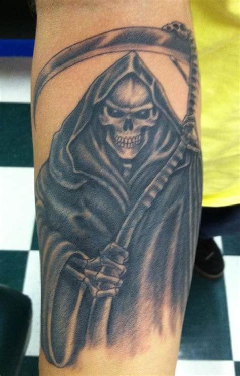 grim reaper tattoo  nano   west palm beach studio