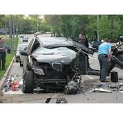Car Accident BMW X5 Tear To Pieces Photos  It's Your