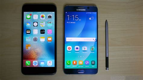 samsung galaxy note   iphone