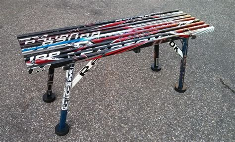 hockey benches 187 hockey stick bench planspdfwoodplans