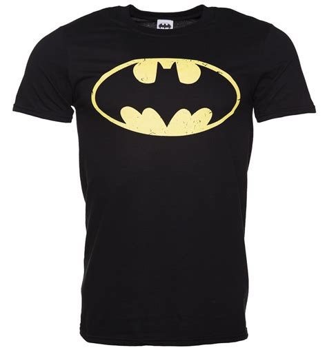 batman distressed symbol black t shirt men s black distressed batman logo t shirt