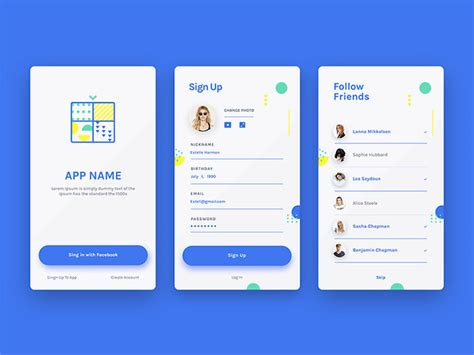 Mobile De Login by 50 Mobile Login And Signup Forms For Your Inspiration