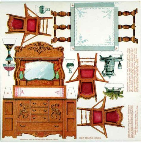cardboard dolls house furniture templates 25 b 228 sta paper doll house id 233 erna p 229 pinterest