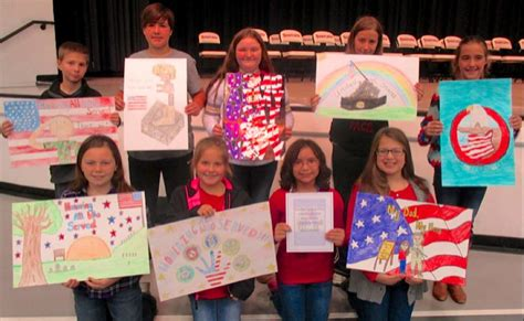 contest 2014 winners 2014 veterans day 5th grade poster contest winners