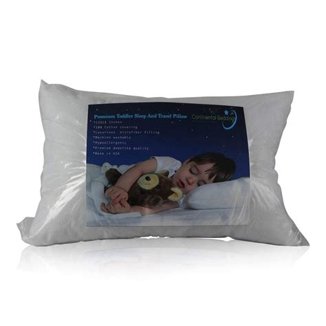 pillow for toddlers continental bedding sleeping toddler pillow luxurious
