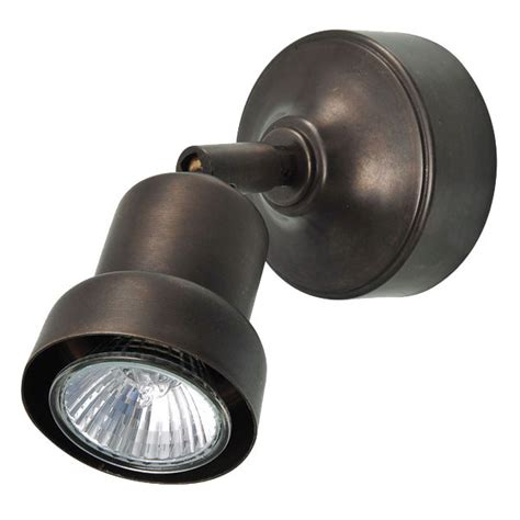 single pavia pavia single spot light bronzed broughtons of leicester ltd