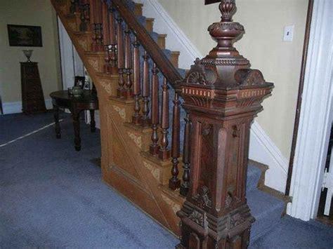 italianate laurelville staircases newel posts pinterest