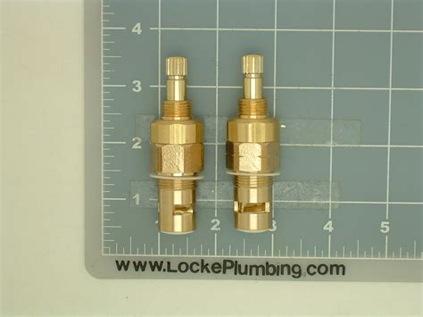 Phylrich Faucet Stems by Phylrich C350 Ls C350 Rs Ceramic Dual Stems Per Pair