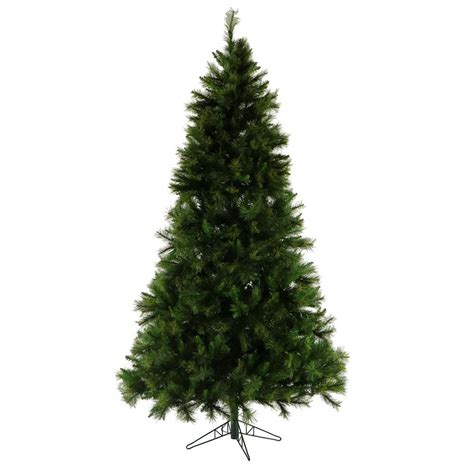 national tree company 5 ft fiber optic led evergreen