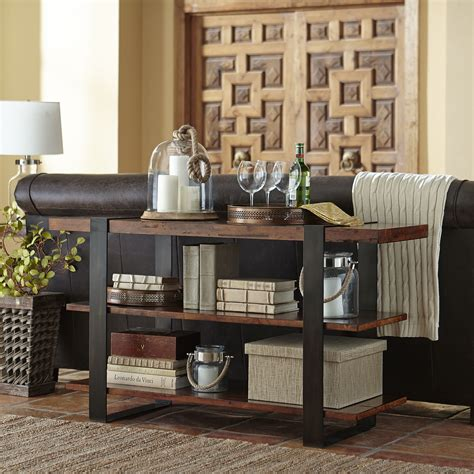 pottery barn sofa table creating a decoration with pottery barn console table