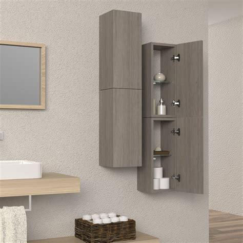 colonne d arredo colonna sospesa arredo bagno e soggiorno design in legno