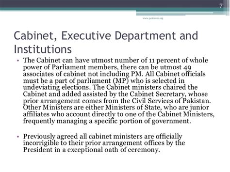 functions of the cabinet the functions of government executive branch