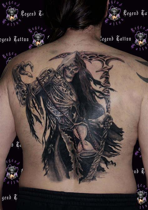 tattoo back death reaper tattoo www legendtattoo gr death tattoo back tattoo