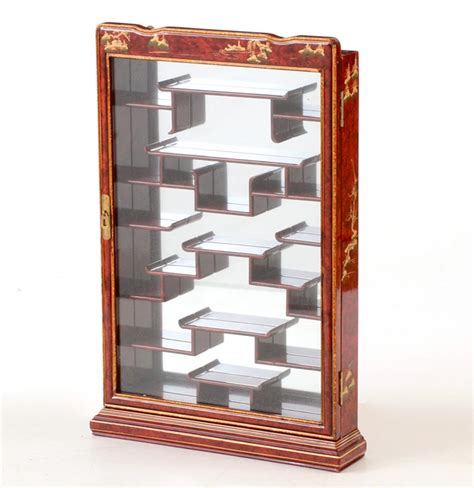 wall mounted curio cabinets asian inspired wall mounted curio cabinet ebth