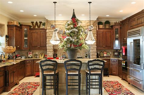for your kitchen decorating ideas that add festive charm to your