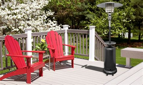 patio heater deals patio heater with table groupon goods