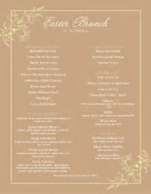 best easter brunch menu easter menus