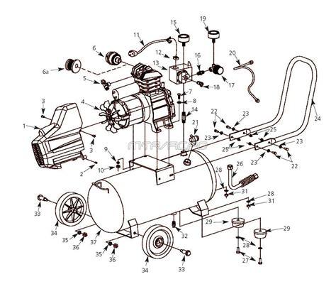 husky hl  hlaj air compressor parts