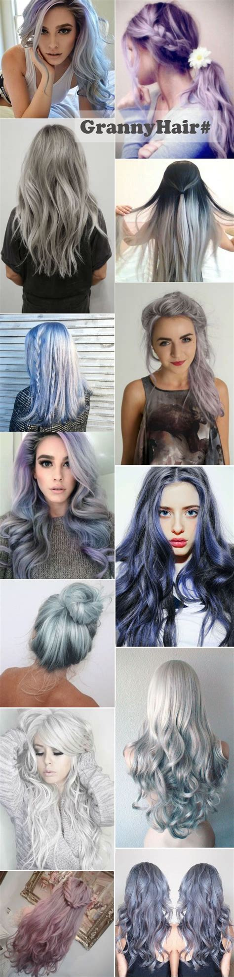 granny hair colour 2015 127 best images about hair trends 2016 on pinterest