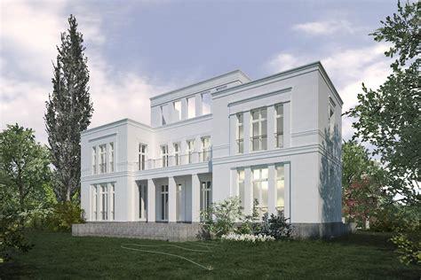 architekten berlin klassische neubauvillen in potsdam jungfernsee cg vogel