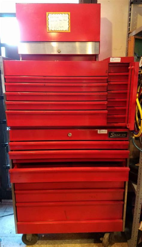 vintage snap on tool chests craftsman tool chest uncle ben s pawn shop