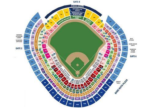 yankee stadium map yankee stadium images