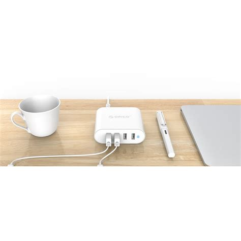 Charger Baterai 1 Port Travel Charger For 1 Lithium Li Ion 18650 orico usb wall travel charger hub 4 port dch 4u v1