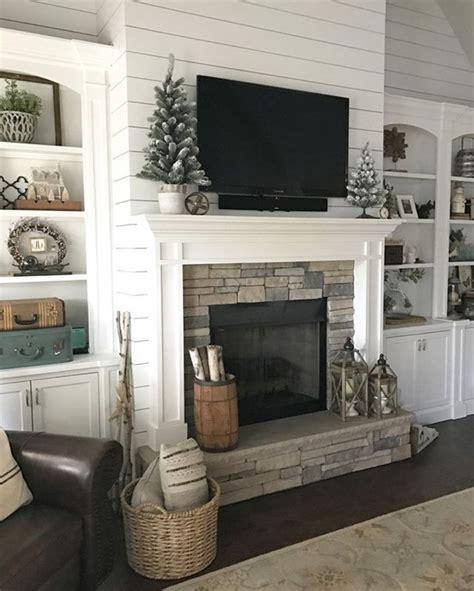 fireplace wall decor outstanding shiplap fireplace wall decor ideas 18