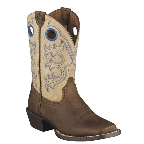 youth boots ariat crossfire unisex toddler youth boot ebay