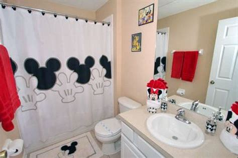 mickey mouse bathroom decor home design and decoration