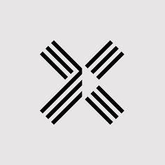 Dumbell Carrefour fashion logo design modern logo geometric logo photography logo premade logo for