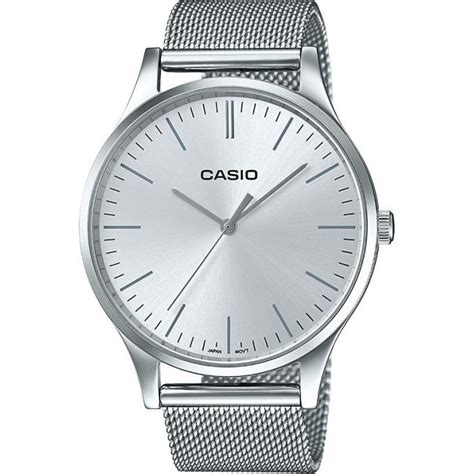 casio orologio argento orologio casio casio collection ltp e140d 7aef orologio