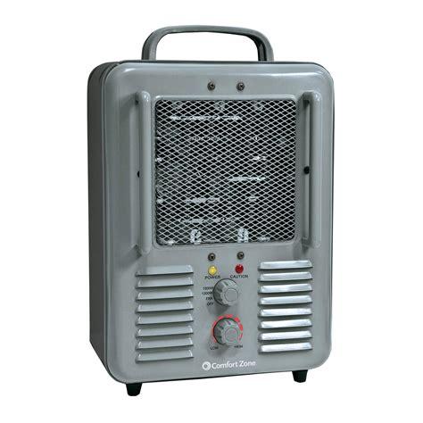 comfort zone electric radiant heater comfort zone cz798 radiant electric wire element heavy