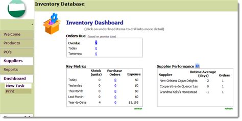 Microsoft Access Inventory Management Template Opengate Software Inc Access Inventory Management Templates