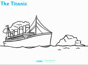 titanic coloring pages free titanic sinking coloring pages