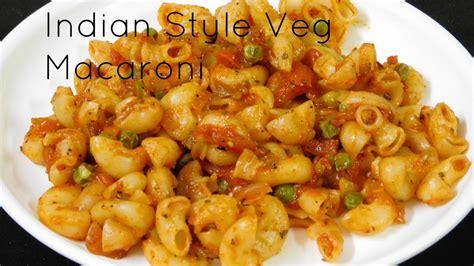 recipes with pasta vegetarian pasta recipes indian style pasta recipe