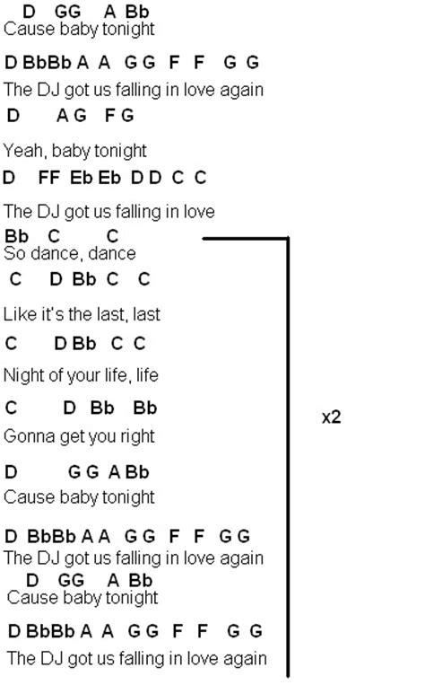 Flute Sheet Music: DJ Got Us Falling In Love