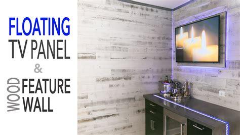 floating wall tv panel ikea diy mancave renovation floating tv wall ikea cabinets