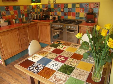 Tiled Kitchen Table Commercial Tiled Table The Ceramic House