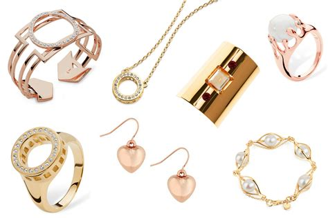 gold jewellery winter fashion trend and christmas gift