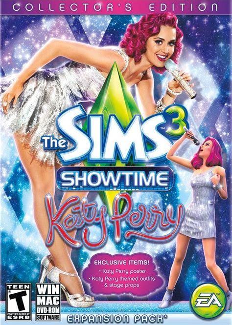 The Sims3 Show Time katy perry themed collector s edition for the sims 3