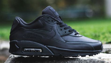 Nike Airmax 90 Black nike air max 90 black leather the sole supplier