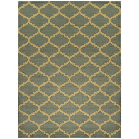 light pink trellis rug ottomanson contemporary moroccan trellis light blue 5 ft