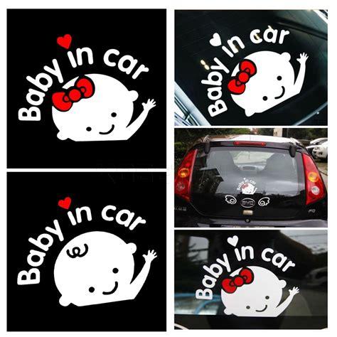 New 1 Pack Set Emblem Mobil Interior Exterior Variasi Mobil Aksesorie 1 diy baby in car sticker motorbasket