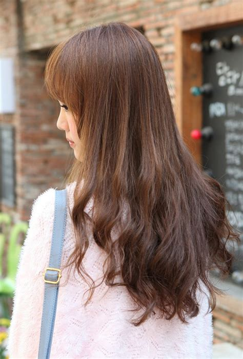 long hair back view long layered hairstyles back view pictures