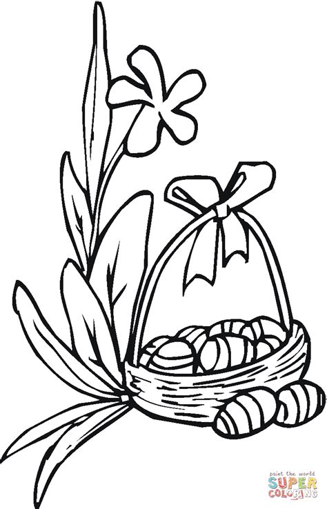coloring pages of easter lilies easter coloring page free printable coloring pages