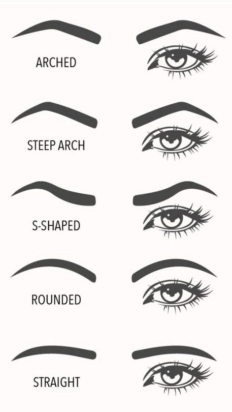 1000 ideas about eyebrow shapes on pinterest eyebrows