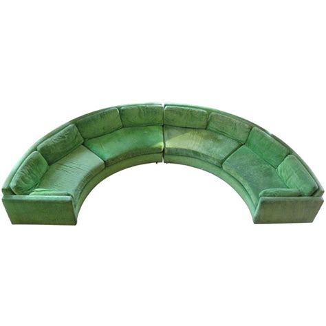 milo baughman circular sofa 1000 images about curved sofa on pinterest curved sofa