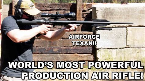 Popular Air Rifles world s most powerful production air rifle airforce texan